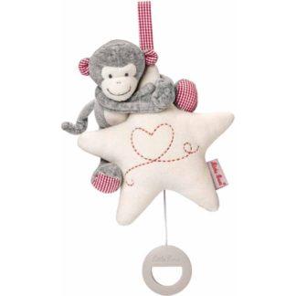 Kathe Kruse Monkey Carlo Musical Plush Toy | LeVida Baby