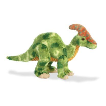 Aurora Parasaurolophus 14 Inch Dinosaur soft toy   LeVida Toys