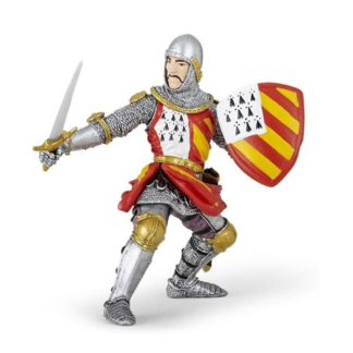 Papo Knight in Tournament Red - Medieval Era - 39800 | LeVida Toys