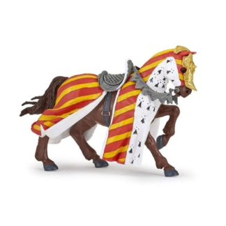 Papo Tournament Horse Red - Medieval Era figure - 39945 | LeVida Toys
