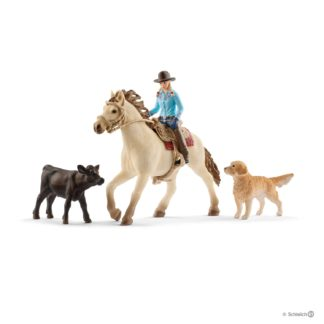 Schleich Western Riding Set Farm Life figure - 42419   LeVida Toys