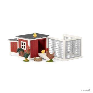 Schleich Rabbit Hutch Farm Life figure - Schleich 42421 | LeVida Toys