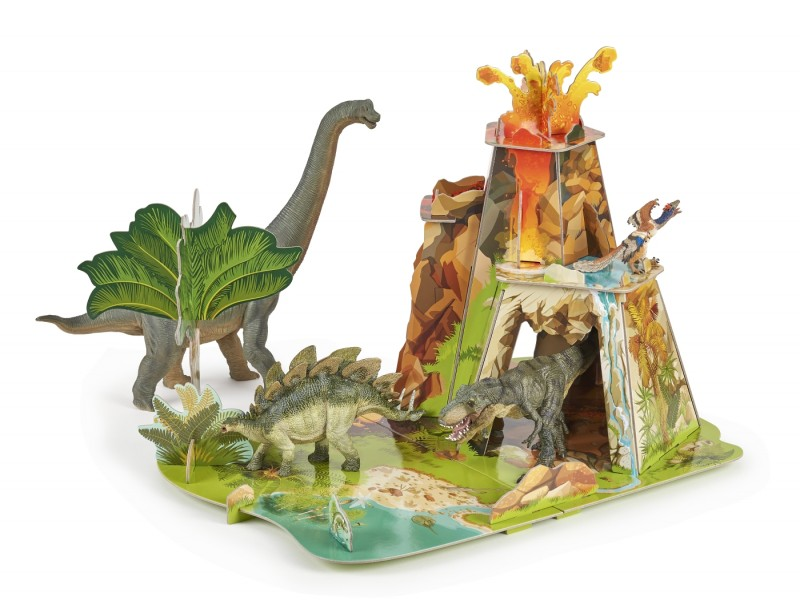 Papo The Land of the Dinosaurs Landscape for Dino Figures | LeVida Toys