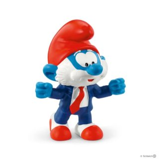 Schleich Football Papa Smurf The Smurfs figure - 20804 | LeVida Toys