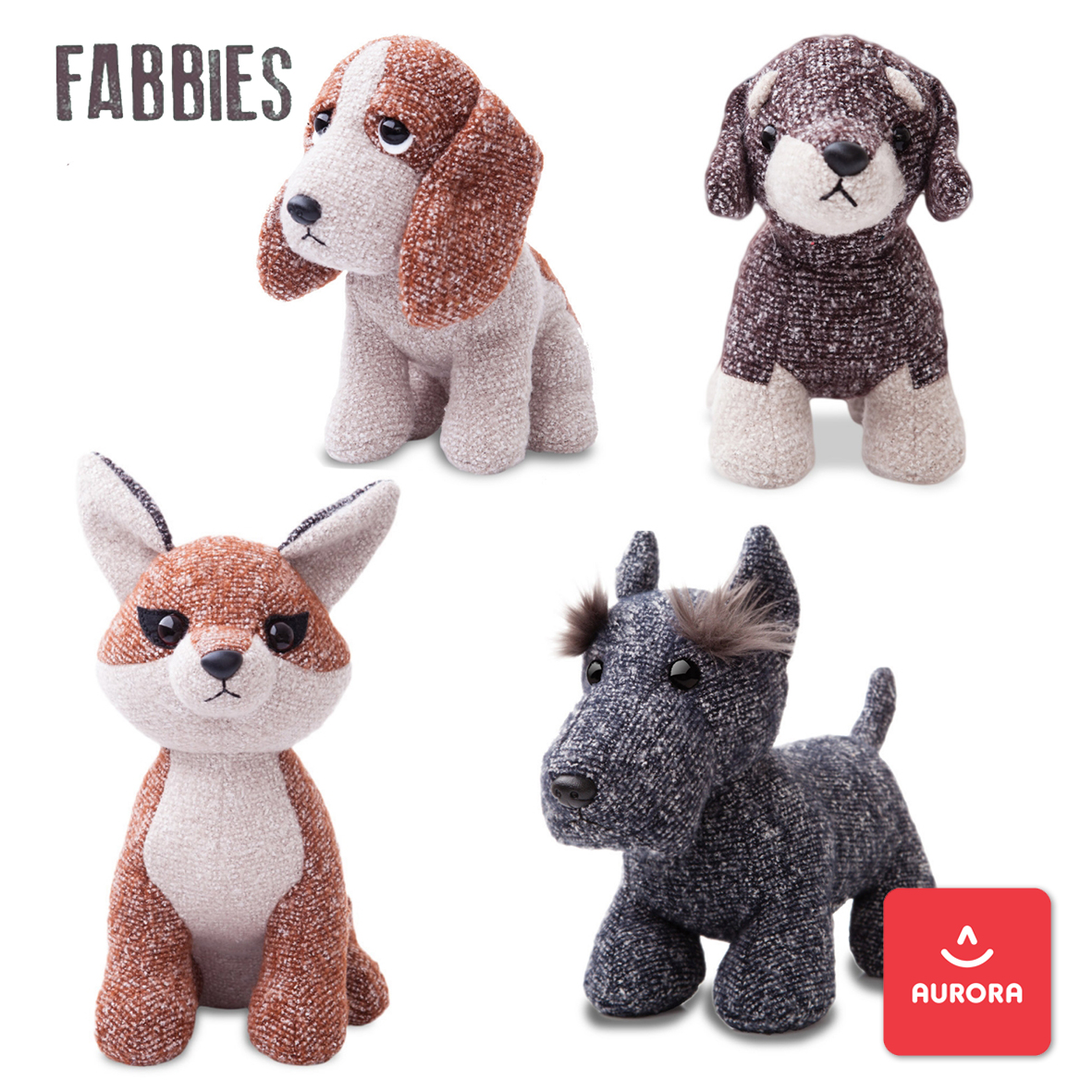 Fabbies soft toys from Aurora