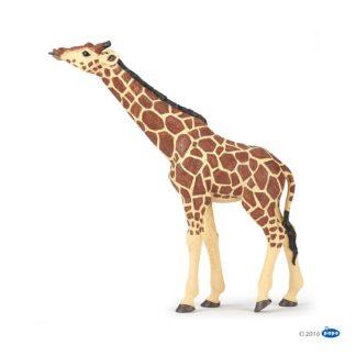Papo Giraffe Head Raised - Wild Animal Kingdom - 50236 | LeVida Toys