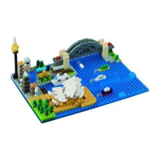 nanoblock Sydney Harbour (NBM-020) | LeVida Toys