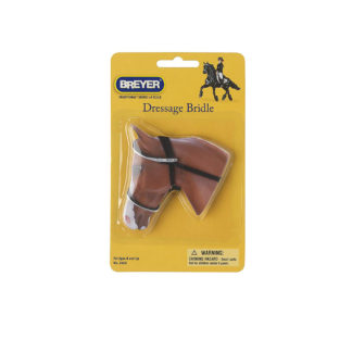 Dressage Bridle, Breyer Traditional (1-9 Scale) Horse Accessory | LeVida Toys