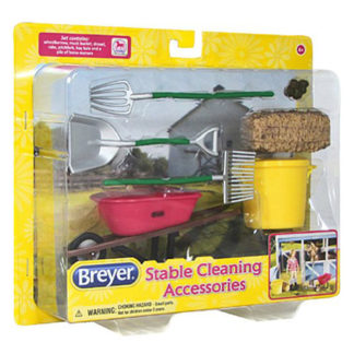 Stable Cleaning Set, Breyer Classics (1-12 Scale) | LeVida Toys