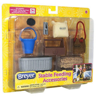 Stable Feeding Set, Breyer Classics (1-12 Scale) | LeVida Toys