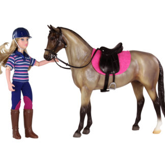 English Horse And Rider, Breyer Classics (1:12 Scale) Figures | LeVida Toys