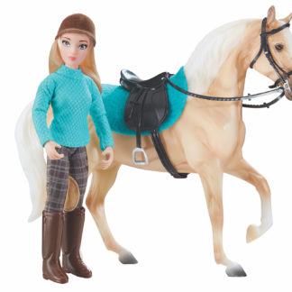 Heather, English Rider, Breyer Classics (1:12 Scale) Doll | LeVida Toys