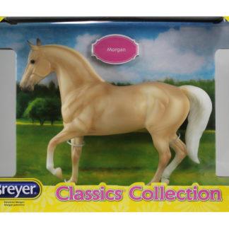 Palomino Morgan, Breyer Classics (1:12 Scale) Horse Figure | LeVida Toys