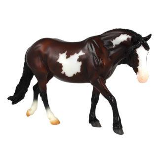 Bay Pinto Pony, Breyer Classics (1-12 Scale) Horse Figure | LeVida Toys