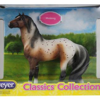 Bay Appaloosa Mustang, Breyer Classics (1:12 Scale) Horse Figure | LeVida Toys