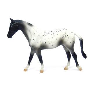 Black Semi-Leopard Appaloosa, Breyer Classics (1-12 Scale) Horse | LeVida Toys