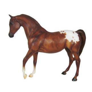 Chestnut Appalososa, Breyer Classics (1:12 Scale) Horse Figure | LeVida Toys