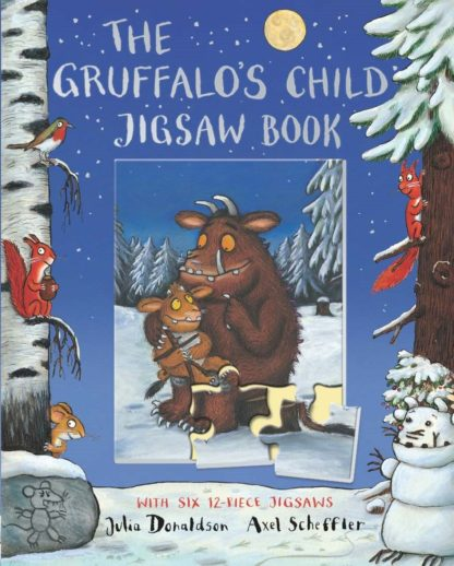 The Gruffalo's Child Jigsaw Book by Julia Donaldson | LeVida Toys