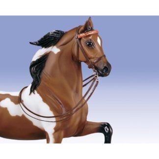 English Show Bridle, Breyer Traditional (1-9 Scale) | LeVida Toys