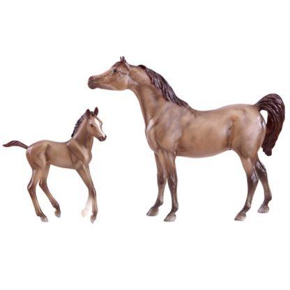 Grey Sport Horse & Foal (Breyer Classics Range - 62047) | LeVida Toys