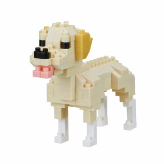 Nanoblock's Mini Collection, Labrador Retriever (NBC-261) | LeVida Toys