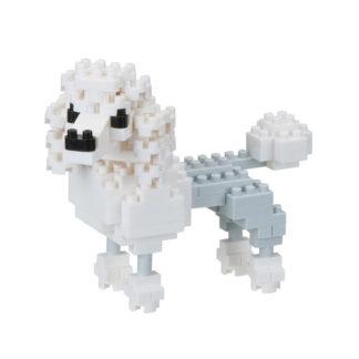 Nanoblock's Mini Collection, Poodle (NBC-262) | LeVida Toys