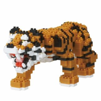 Nanoblock's Animals Deluxe Edition Collection, Bengal Tiger (NBM-021)