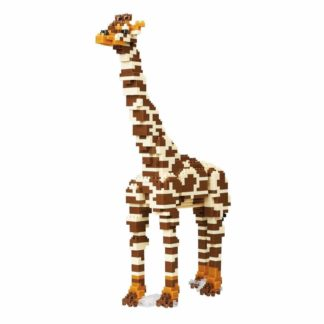 Nanoblock's Animals Deluxe Edition Collection, Giraffe (NBM-0233)