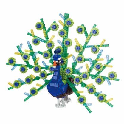 Nanoblock's Animals Deluxe Edition Collection, Peacock (NBM-023)