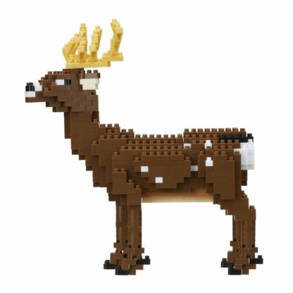 Nanoblock's Animals Deluxe Edition Collection, Deer (NBM-024)