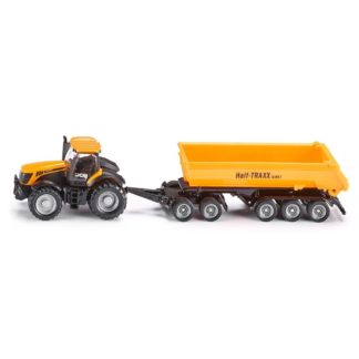 Siku JCB Tractor with Dolly and Tipping Trailer 1:87 (1858) | LeVida Toys
