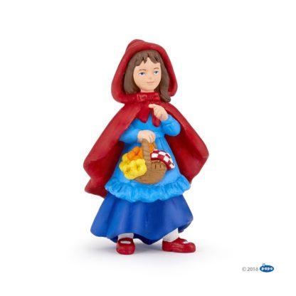 Papo Little Girl Riding Hood - Enchanted World figure - Papo 39146 | LeVida Toys