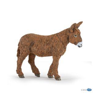 Papo Poitou Donkey - Farmyard Friends figure - Papo 51168 | LeVida Toys