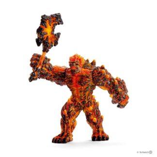 Schleich Lava Golem with Weapon Eldrador figure - Schleich 42447 | LeVida Toys