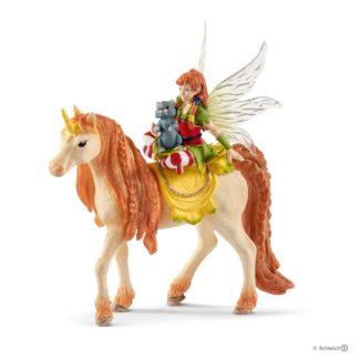 Schleich Fairy Marween with Glitter Unicorn Bayala figure - 70567 | LeVida Toys