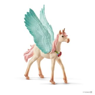 Schleich Decorated Unicorn Pegasus Foal Bayala figure - 70575 | LeVida Toys
