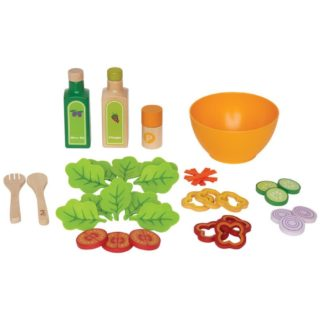 Hape Garden Salad (E3116) Play Food Set | LeVida Toys
