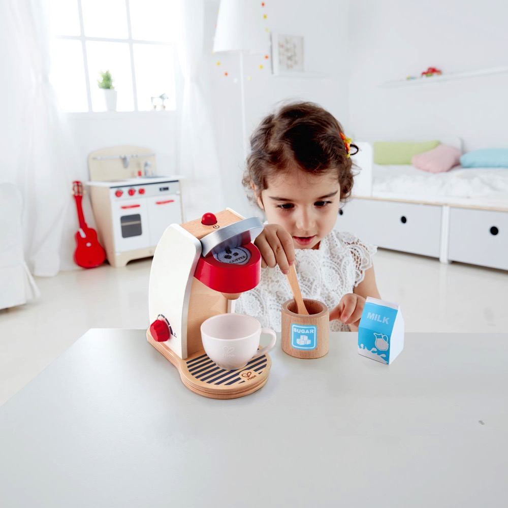 Hape My Coffee Machine - Playfully Delicious | LeVida Toys