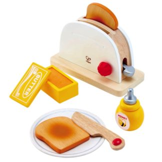 Hape Pop-up Toaster Set - Playfully Delicious | LeVida Toys