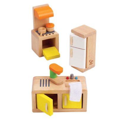 Hape Kitchen (E3453) Dolls House Set   LeVida Toys