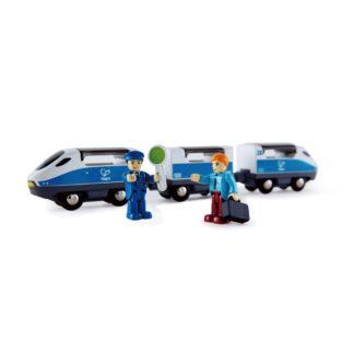 Hape Intercity Train (E3728) for Wooden Railway's   LeVida Toys
