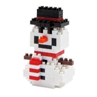Nanoblock Mini Collection, Snowman (NBC-027)   LeVida Toys