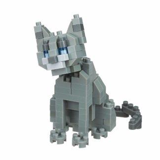 Nanoblock Russian Blue Cat (NBC-266)   LeVida Toys