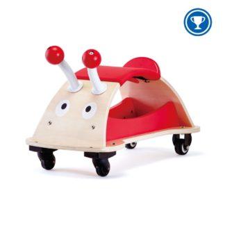 Hape Ladybug Ride-on Toy with storage space (E0378) | LeVida Toys