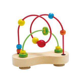 Hape Double Bubble Bead Maze (E1801) | LeVida Toys