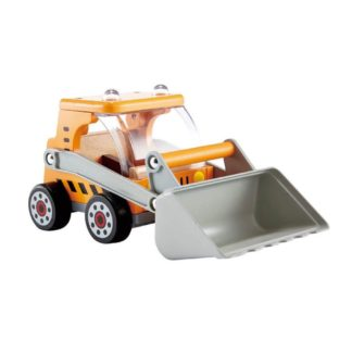 Hape Great Big Digger construction site toy (E3012) | LeVida Toys