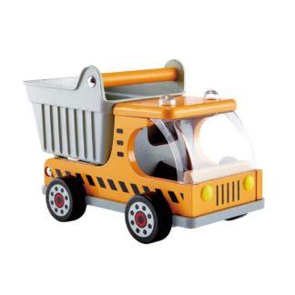 Hape Dumper Truck, construction site toy (E3013) | LeVida Toys
