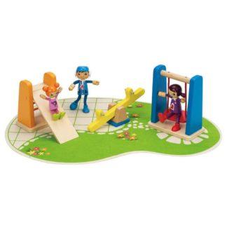 Hape Playground, dolls house set (E3461) | LeVida Toys