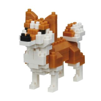 Nanoblock Mini Collection, Shiba-Inu (NBC-279) | LeVida Toys