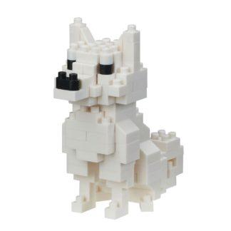 Nanoblock Mini Collection, Hokkaido Dog (NBC-280)   LeVida Toys